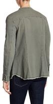 William Rast Knotto Patch Embellished Jacket