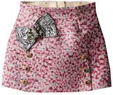 Dolce & Gabbana Pink Jacquard Skirt (Toddler/Little Kids)