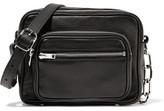 Alexander Wang Attica Chain-trimmed Leather Shoulder Bag - Black