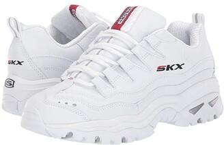 Skechers Energy - Timeless Vision (White Multi) Women's Shoes