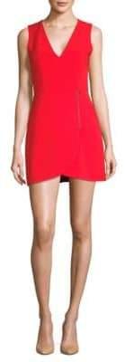Alice + Olivia Lennon Zip Minidress