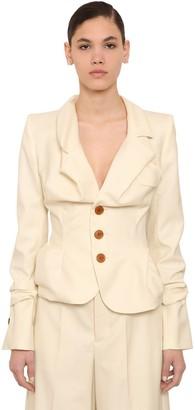 Vivienne Westwood Virgin Wool Grain De Poudre Blazer
