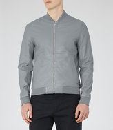 Reiss Billy Leather Bomber Jacket