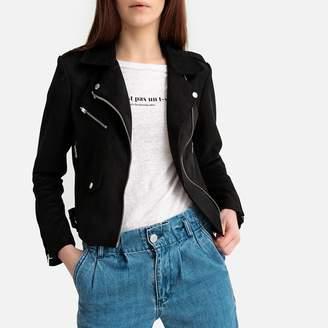 Only Faux Suede Biker Jacket