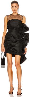MARIANNA SENCHINA Sea Maid Mini Dress in Black | FWRD