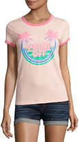 Arizona Palms Off Graphic T-Shirt- Juniors