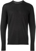 Dolce & Gabbana micro dots jumper