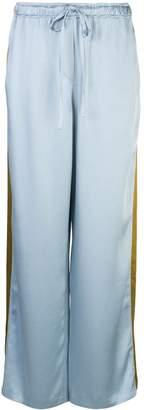 Haider Ackermann contrast stripe trousers