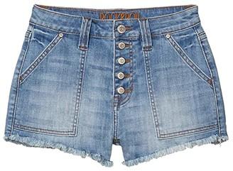 Rock and Roll Cowgirl High-Rise Shorts in Medium Wash 68H4157 (Medium Wash) Women's Clothing