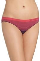 Calvin Klein Women's Illusion Seamless Bikini Briefs