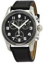 Victorinox Men's Classic 241545 Leather Swiss Chronograph Watch