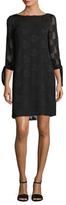 Donna Ricco Long Sleeve Cocktail Dress