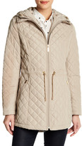 Laundry by Shelli Segal Quilted Hooded Jacket