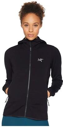 Arc'teryx Kyanite Hoodie (Black) Women's Sweatshirt