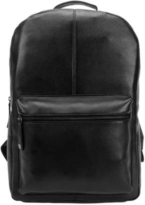 Black Brown 1826 Classic Leather Backpack