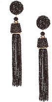 Natasha Accessories Tassel Drop Statement Earrings