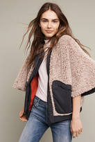 Hei Hei Reversible Sherpa Buttondown Poncho