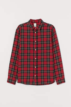 H&M Flannel shirt Regular Fit