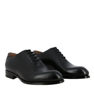 Ermenegildo Zegna Brogue Shoes Francesina Blake In Leather