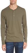 AG Jeans Men's Clyde Long Sleeve Henley
