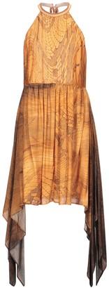 Just Cavalli Knee-length dresses