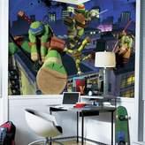 York Wall Coverings York Wallcoverings Teenage Mutant Ninja Turtles Cityscape Removable Wallpaper Mural