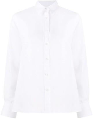 Eleventy Linen Long Sleeve Shirt
