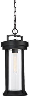 Winston Porter Savala Oil Rubbed Bronze 1 Bulb 15 25 H Outdoor Hanging Lantern Shopstyle