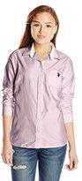 U.S. Polo Assn. Juniors' Solid Oxford Shirt