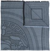 Versace Medusa logo shawl