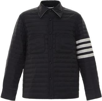 Thom Browne Padded Four-Stripe Nylon Down Jacket