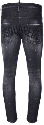 DSQUARED2 14cm Super Twinky Denim Stretch Jeans