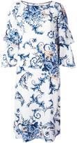 Antonio Marras ruffle sleeve dress - women - Spandex/Elastane/Cupro/Viscose - 44