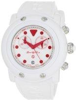 Glam Rock Women's GR61105 Miami Beach Chronograph White Watch