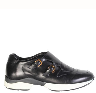 Tod's Black Leather Richelieu Sneakers Size 38