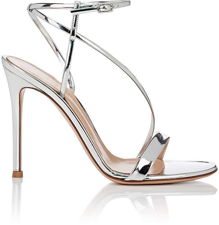 Gianvito Rossi Women's Carlyle Specchio Leather Sandals