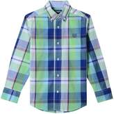 Chaps Boys 4-20 Plaid Button-Down Shirt