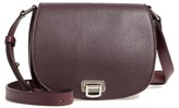 Shinola Calfskin Leather Shoulder Bag - Purple