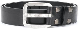 DSQUARED2 Studded Leather Belt