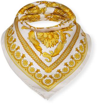 Versace Baroque Heritage Silk Scarf