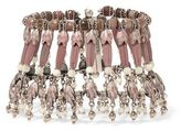 Etro Silver-Plated Rhodonite And Mother-Of-Pearl Bracelet