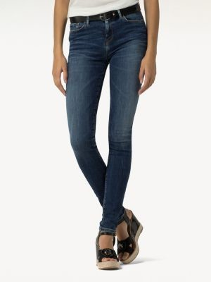 Tommy Hilfiger Como Skinny Fit Faded Jeans