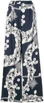 Just Cavalli Chain Reaction print trousers