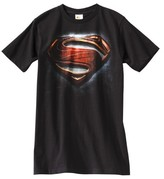 DC Comics Men's Superman Man of Steel T-Shirt Black