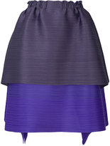 Pleats Please By Issey Miyake layered full skirt