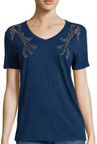 i jeans by Buffalo Short-Sleeve Embellished Tee