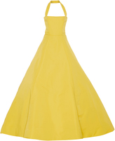 Christian Siriano Halter Neck Gown