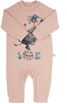 Stella McCartney Elephant-Graphic Coverall-PINK