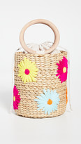 Poolside Bags Embroidered Bucket Bag