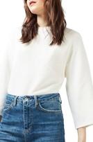 Topshop Women's Diamond Kimono Sleeve Sweater